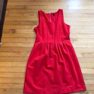 JCrew Red Dress Size 12